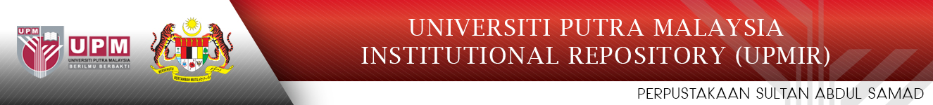 Universiti Putra Malaysia Institutional Repository